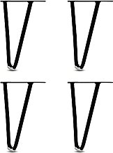 Gambe per Mobili in Ferro (4 Pezzi), Gambe per