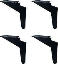 Gambe per Mobili X4, Materiale in Ferro, Gambe Di