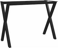Gambe per Tavolo da Pranzo con Struttura a X