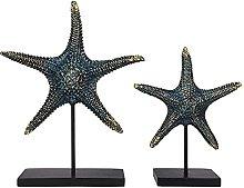 GAOYINMEI Resina Artigianato Scultura Starfish