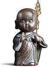 GAOYINMEI Scultura Da Tavolo Statua Sabbia Nera