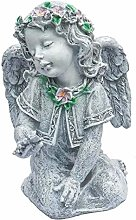 Garden Angel Statue Scultura Pregare Angelo con Le