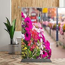 Garden Street Tende da doccia Fiore colorato