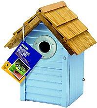 Gardman A01681 Casetta per Uccelli Beach Hut, Blu