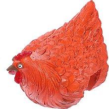 Garneck Divertente di Pollo Recinzione Decorazione