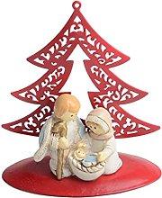Garneck Famiglia di Gesù Maria Statua di Natale