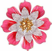 Garneck Fiore Rosso Scultura di Attaccatura di