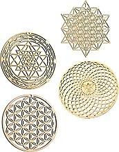GARNECK Geometria Sacra di Arte della Parete Set