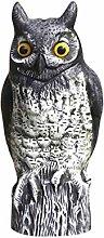 GARNECK Gufo da Giardino Statua Uccello