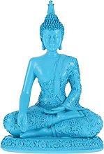 GARNECK Meditando Statua di Buddha in Resina