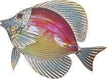 Garneck Pesce in Metallo della Decorazione della