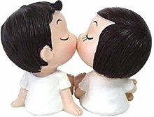 GARNECK Statuette di Coppie Romantiche Scultura di