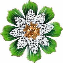 Garneck Verde Scultura di Fiori Appeso A Parete di