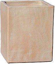 Gartentraum Vaso da Fiori Quadrato in gres -