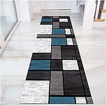 GAXQFEI Corridore Moderno Del Tappeto Geometrico