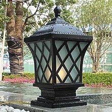 GAXQFEI Lampioni da Esterno Lampione da Esterno