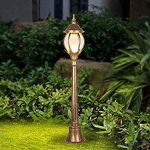 GAXQFEI Luce Lanterna Glass Europe American