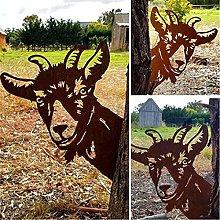 GAXQFEI Metallo Art Sculpture, Recinzione