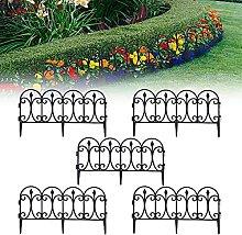 GAXQFEI Recinzione da Giardino 5Pcs, Recinzione