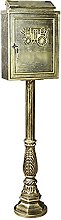 GAXQFEI Statue Di Giardino Sculture Post Box
