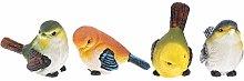 Gazechimp 4 Pezzi Realistici Uccello Decor