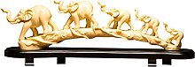 gazechimp Animali Statua Elefante Ornamento