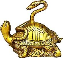 gazechimp Cinese Serpente Tartaruga Statua Animale