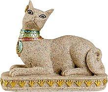 Gazechimp Egitto Gatto Scultura Ornamento