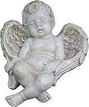 gazechimp Resina Cupido Angelo Figurina Cherubini