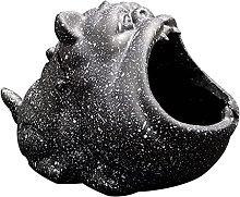 gazechimp Statua Animale Scultura Posacenere Ash