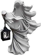 Gazechimp Statua in Resina di Fantasma Bianco con