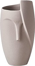 Gazechimp Vaso per Il Viso in Ceramica Irregolare
