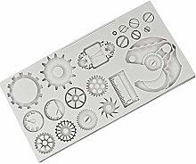 Gear - Stampo in silicone per fondente e