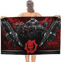 Gears of War double face pile asciugamani da bagno