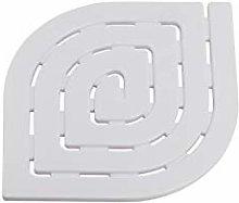 Gedy spirale Pedana per piatto doccia, Bianco,