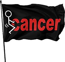 GERERIC Fanculo Il Cancro Bandiera 90X150 Bandiera