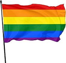 GERERIC Gay Pride Bandiera 90X150 Bandiera