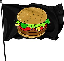 GERERIC Hamburger Bandiera 90X150 Bandiera Pirata