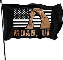 GERERIC Moab Utah Bandiera 90X150 Bandiere della