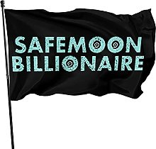GERERIC Safemoon Billonaire Bandiera 90X150