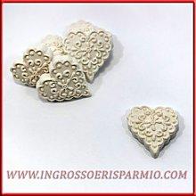 Gessetti bianchi profumati a forma di cuore