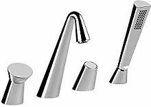 Gessi Cono rubinetto vasca da bagno 4 fori
