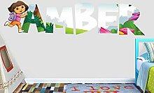 GFRT Adesivo murale 3D Nome Personalizzato Adesivo