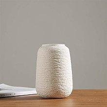 GFTDTM Vaso Moderno Vaso Bianco Vaso in Ceramica
