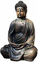 GGYDD Antico Buddha Statua,Giardino Vintage