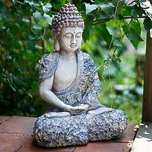 GGYDD Cinese Antico Buddha Statua,Giardino Vaso di