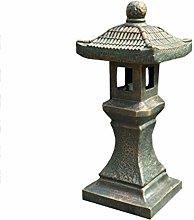 GGYDD Giapponese Giardino Statua,Antico Decorativi