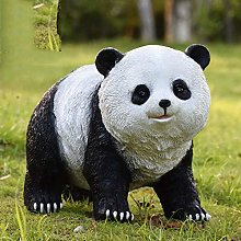 GGYDD Giardino Panda Statua,Creativo Statua da