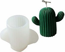 GHBOTTOM Stampo in silicone 3D a forma di cactus,