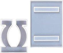 GHBOTTOM Stampo in silicone epossidico per la